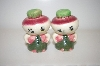 "Vintage ""Turnip"" Salt & Pepper Shakers"