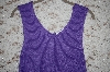 Purple Louis Dell'Olio Stretch Ribbed Sweater Tank