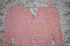 Pink Louis Dell'Olio Stretch Ribbed Sweater