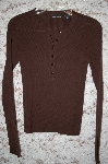 Brown Moda Button Front  Sweater