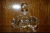 Elegant Clear Crystal Perfume Bottle