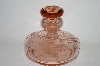 Vintage Pink Glass Perfume Bottle/Small Decantor