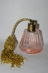 Vintage Soft Pink Glass Atomizer Perfume Bottle