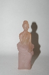 "Vintage Pink Glass ""AVON"" Lady Perfume Bottle"