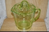 Hocking  Green Reamer &  4- Cup Pitcher #4953