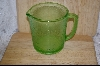 Hazel -Atlas Green Reamer Pitcher 4-Cup #4964