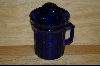 **Reproduction Cobalt Blue Cup W/ Reamer Top #4786
