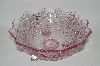 "MBA #61-124   ""Very Fancy Cut Light Lavender Glass ""Rose Bowl"""