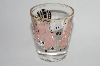 "MBA #61-208  "" One Vintage ""Pink Pig"" Happy Days Shot Glass"