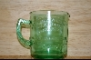 Reproduction Green Glass Measuring Cup #4825