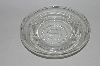 "** MBA #64-288        ""Beautiful Clear Glass ""S"" Embossed Ashtray"