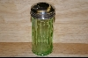 Reproduction Green Glass Sugar Shaker #4818