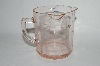 """SOLD""     MBA #64-150 Vintage Pink Depression Glass ""Kelloggs"" Three Spout Measuring Cup"