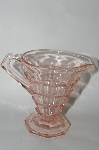 "**Vintage Pink Depression Glass ""Tearoom"" Creamer"