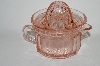 "**MBA #64-126   "" Limited Edition Reproduction Two Piece Light Pink Reamer"