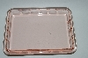 "Vintage Pink Depression Glass ""Square"" Vanity Tray"