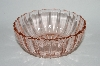 "** Vintage Pink Depression Glass ""Fortune"" Deep Berry Bowl"
