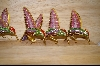 Set of 4 Hummingbird Ornaments #5075