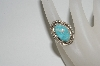 **MBA 365-110   Artist Signed Light Blue Turquoise Ring