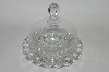 "MBA #65-056   ""Salina Glass Covered Butter Dish"