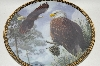 "**1994 Larry Pitcher ""Morning Majesty"" Wings Of Eagles Series"