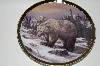 "**MBA #68-061  ""1998 Trevor Swanson ""The Grizzly Bear"" Collectors Plate"