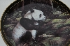 "**1998 Trevor V. Swanson ""The Panda Bear"" Collectors Plate"