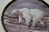 "**1998 Trevor V. Swanson ""The Polar Bear"" Collectors Plate"
