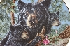 "**1994  ""Babies Of Spring"" Collectors Plate Black Bears"
