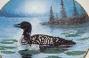 "**MBA #69-086  ""Terry McLean ""Wilderness Call"" Collectors Bird Plate"