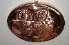 "MBA #70-8070   ""25 Year Old Copper Angel Oval Jello Mold"