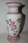 +MBA #69-019  Laura Ashley Home Floral Vase