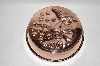 """SOLD""  25 Year Old Copper ""Moon & Stars"" Jello Mold"