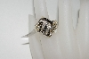 "MBA #76-081  ""10K Yellow Gold Diamond Ring"