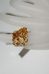 14K Yellow Gold Citrine & Diamond Cascading Ring