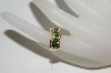 14K Yellow Gold Tsavorite & Diamond Ring