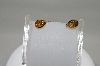 14K Yellow Gold Pear Cut Citrine Earrings