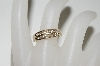 14k Yellow Gold Round Cut All Channel Set Diamond Ring