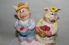 "Popular Creations ""Pig"" Salt & Pepper Shakers"