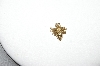 14K Yellow Gold Small Diamond Bumble Bee Pendant
