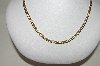 "MBA #85-197  ""10K White & Yellow Gold  Marina Chain 20"""