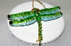 Green Dragonfly Ornament