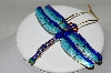 Blue Dragonfly Ornament