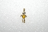 "MBA #S51- 025   ""1980's Gold Plated  November Boy Pendant"""