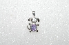 "Mba #S51-091   ""1080'S Sterling June Dog Pendant"""