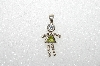 "MBA #S51-131   ""1980's Sterling August ""KID"" Girl Pendant"""