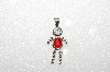 "MBA #S51-647   ""1980's Sterling July ""KID"" Boy Pendant"""