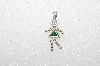 "MBA #S51-625   ""1980's Sterling May ""KID"" Girl Pendant"""