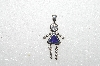 "MBA #S51-054   ""1980's Sterling September Girl Pendant"""