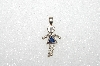 "MBA #S51-692   ""1980's Sterling September ""KID"" Girl Pendant"""
